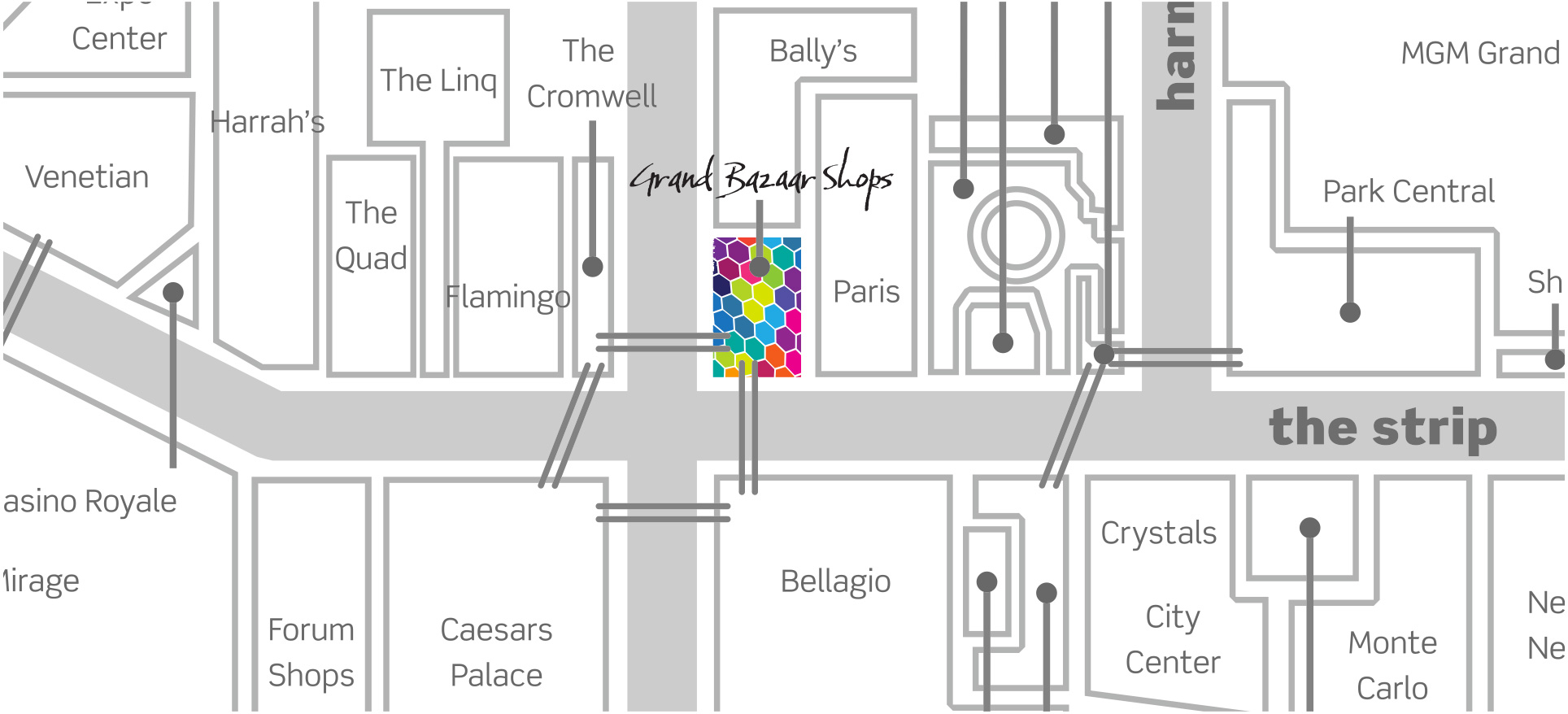 grand-bazaar-shops-las-vegas-strip-map-zoomed